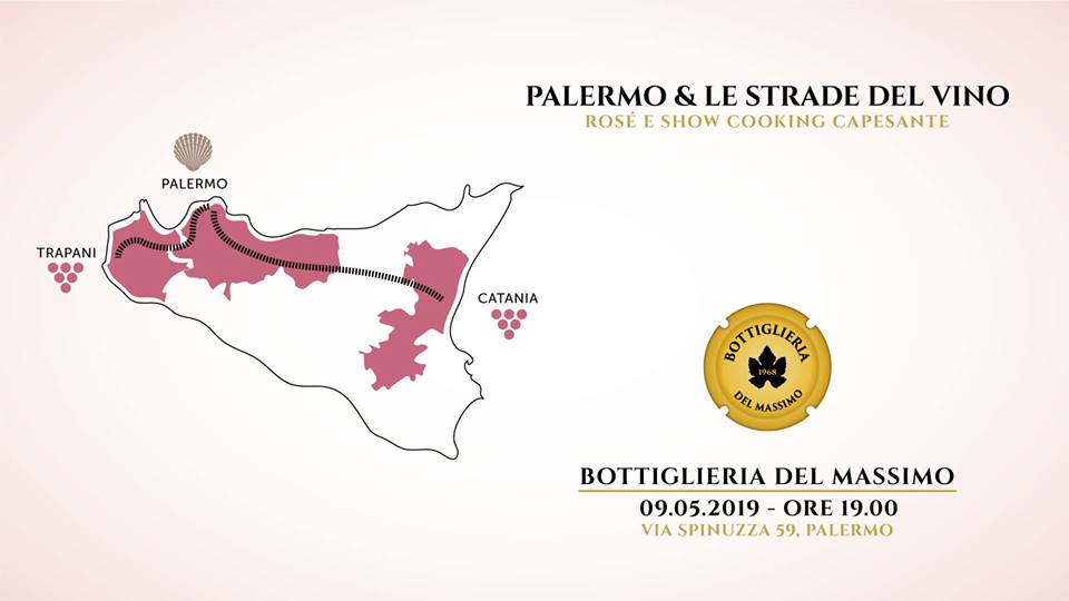 Palermo e le Strade del Vino – Sicilian Rosè WineTasting