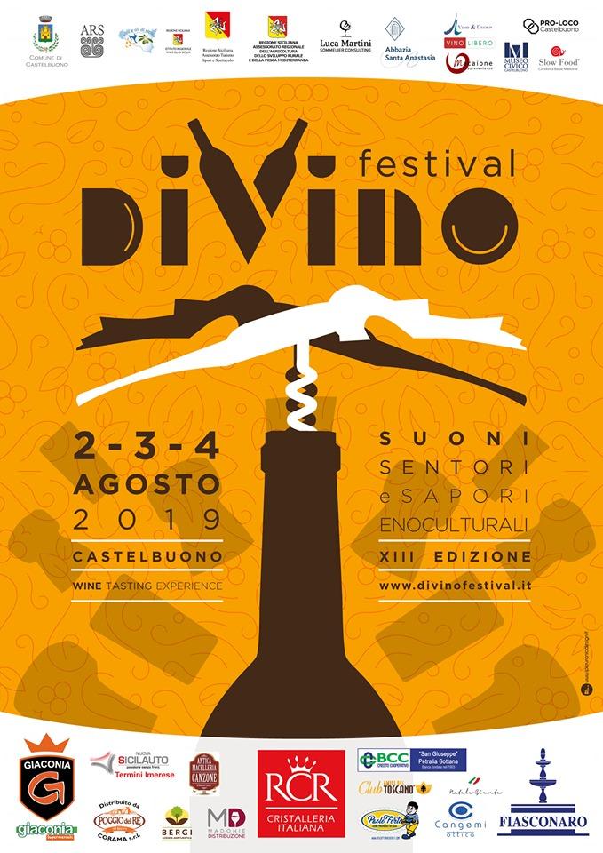 DiVino Festival – 2/3/4 August 2019 in Castelbuono (PA)