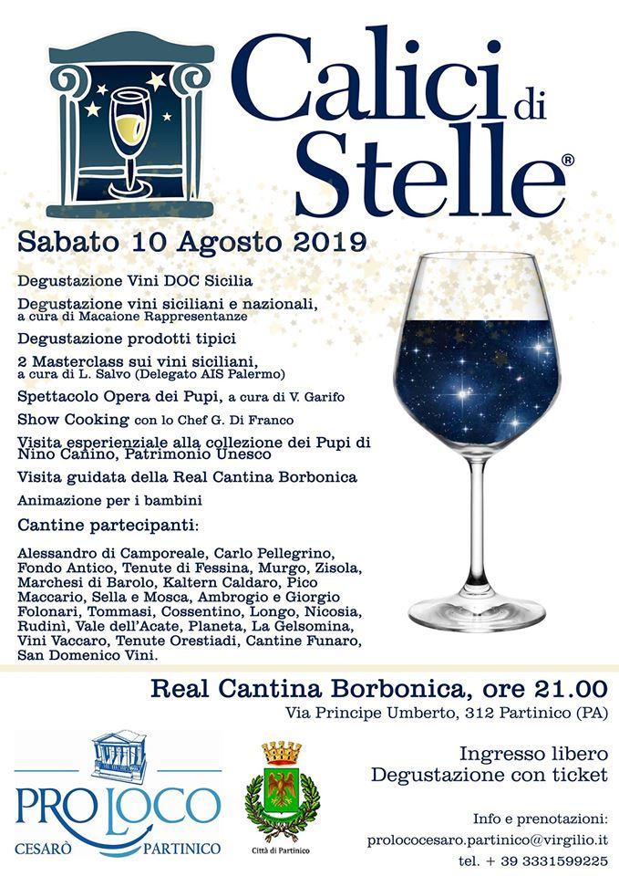 Calici Di Stelle 2019 in Sicily – Partinico (PA)