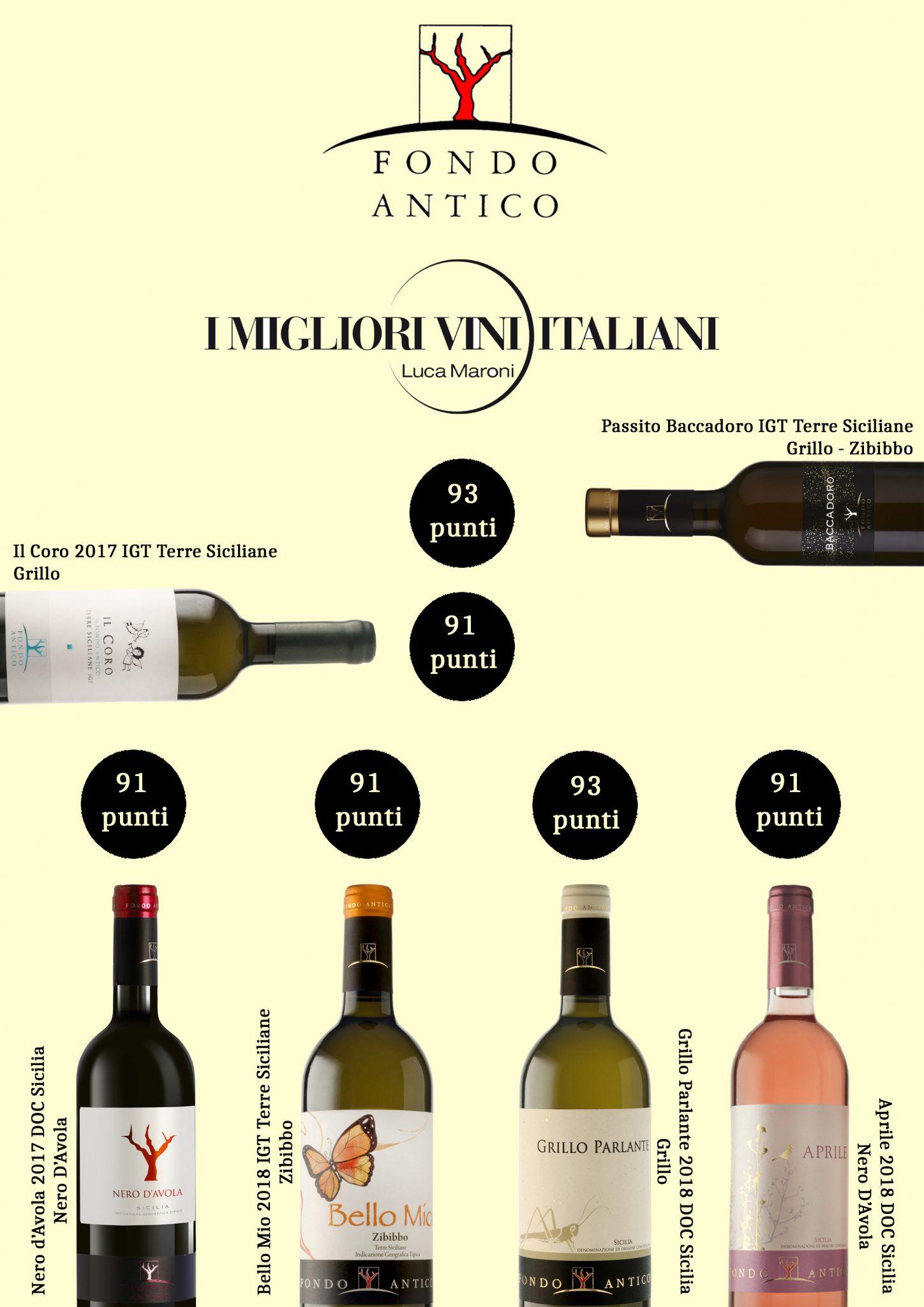I Migliori Vini Italiani di Luca Maroni 2020