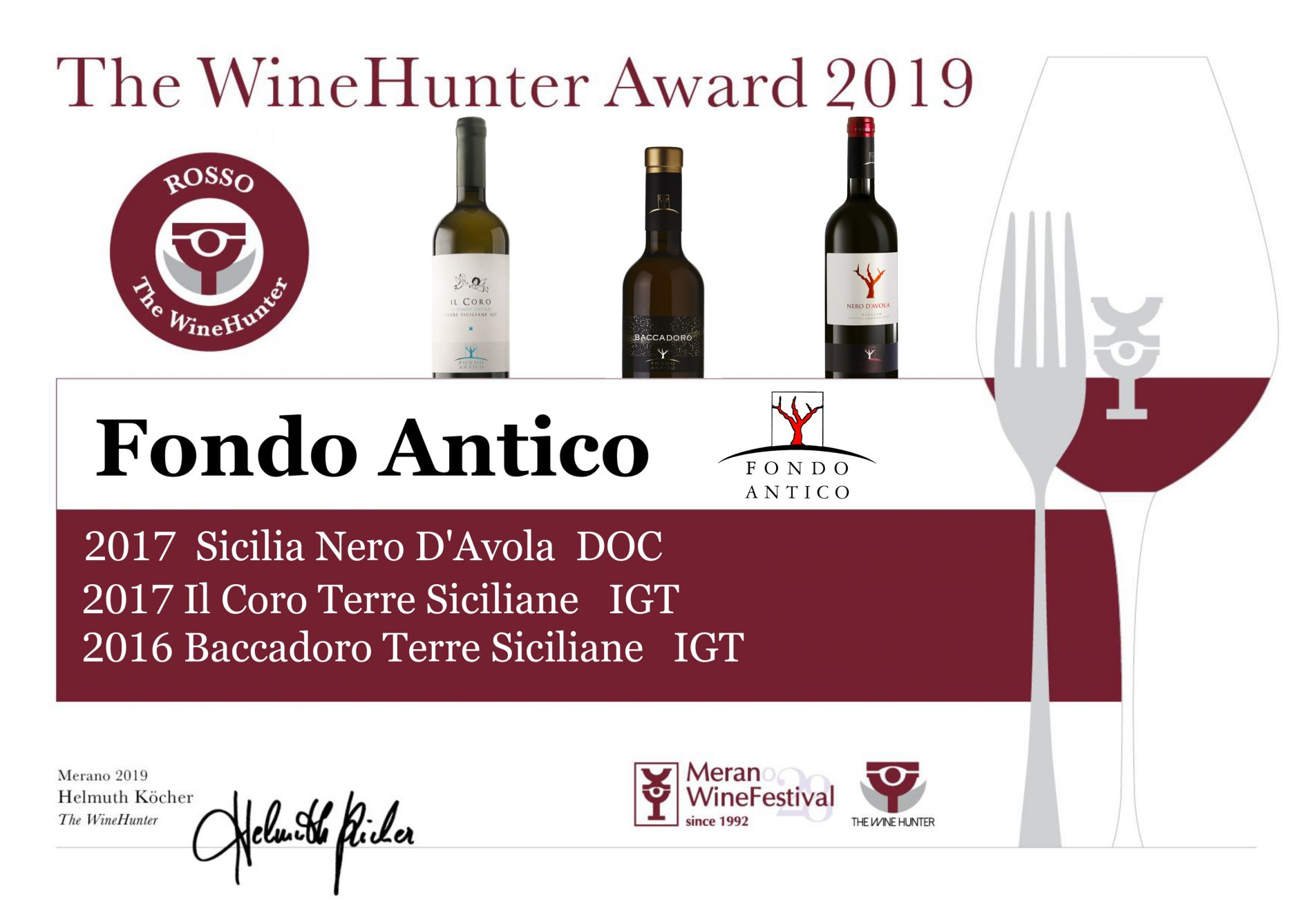 Rosso The WineHunter – WineHunter Awards