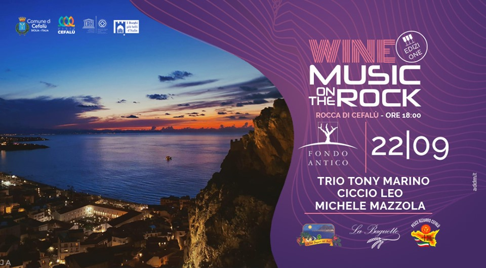 Wine Music On The Rock – Cefalù (PA)