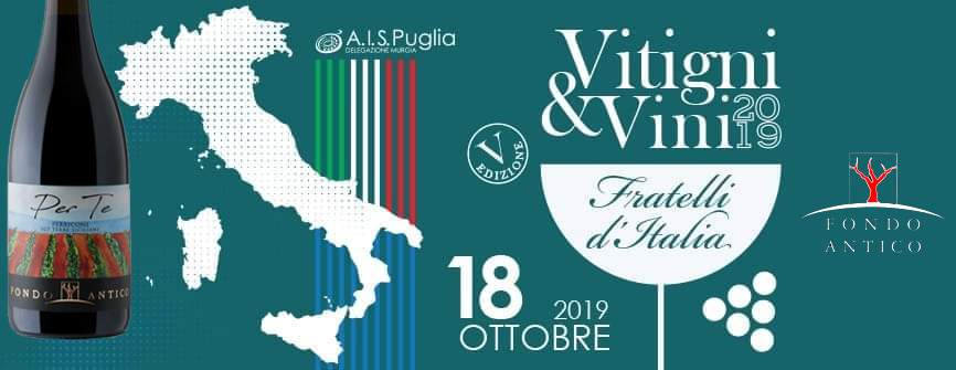 Vitigni&Vini in Puglia 2019 – Castellana Grotte (Ba)