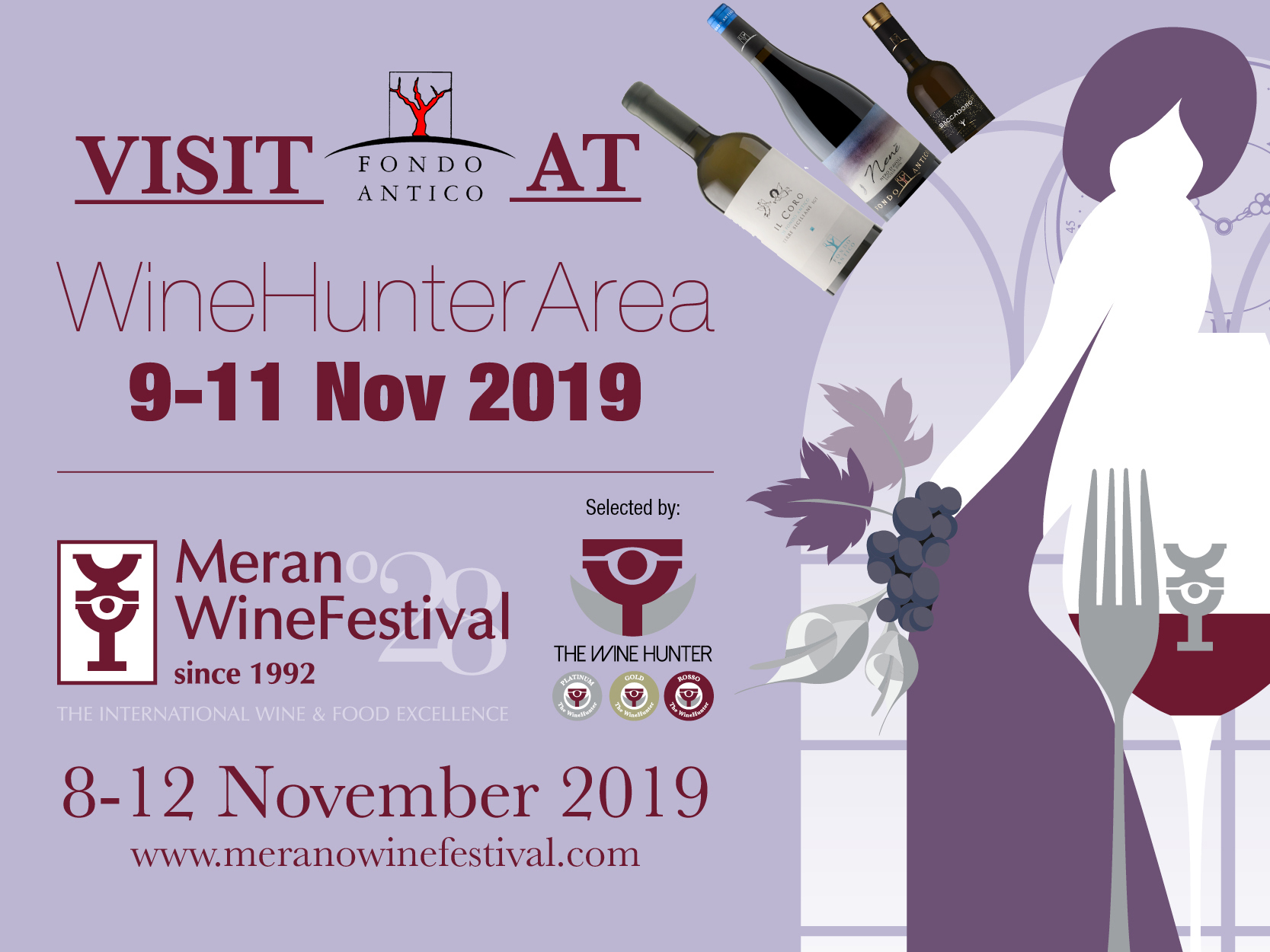 Merano Wine Festival | 9-11 Novembre 2019