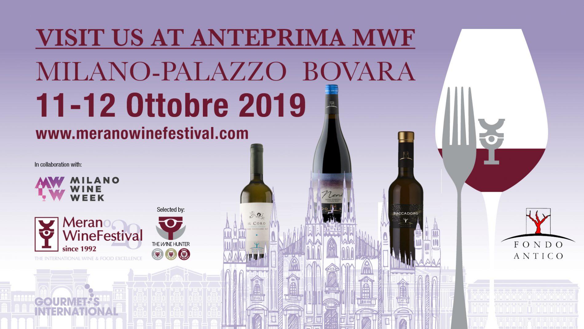 Anteprima MWF at Milano Wine Week – Milano